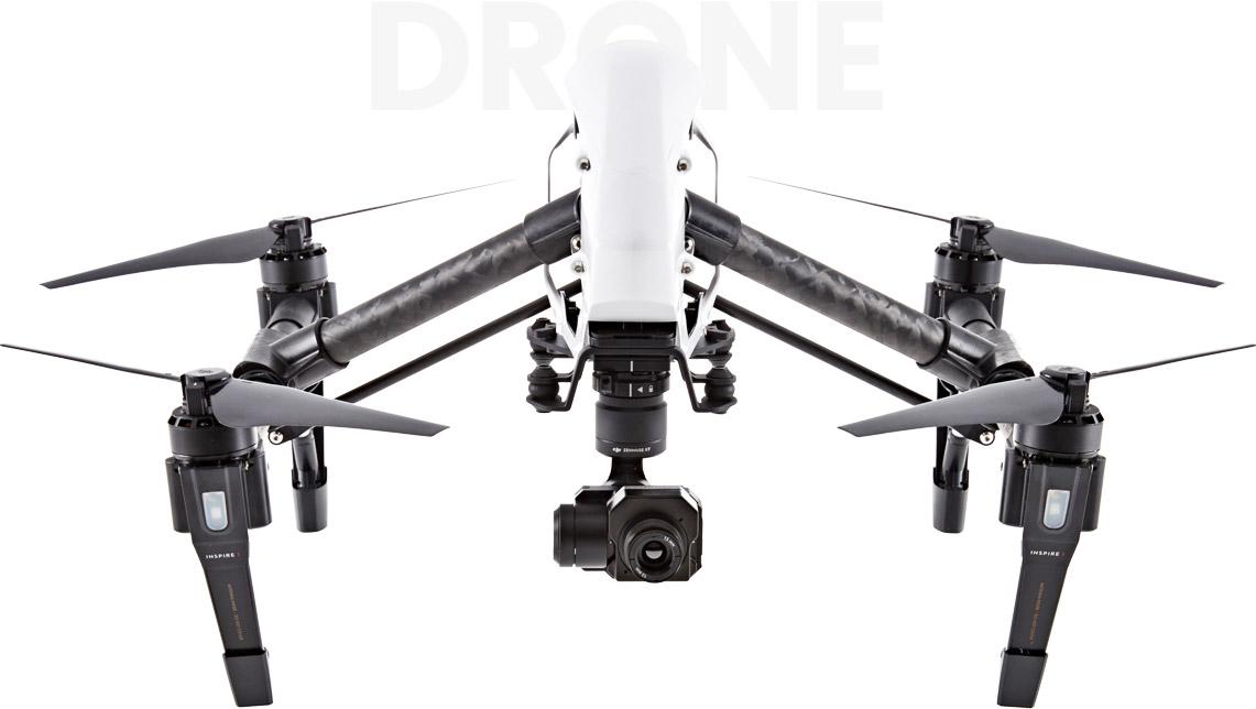 desde arriba drones carrito